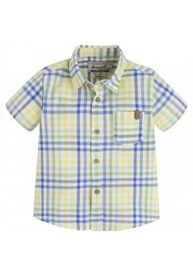 Camisa MAYORAL amarilla y verde