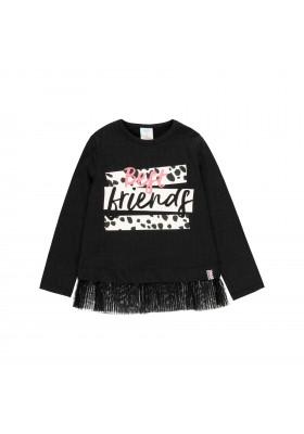 """Camiseta punto """"my bbl friends"""" de niña Boboli modelo 443045"""