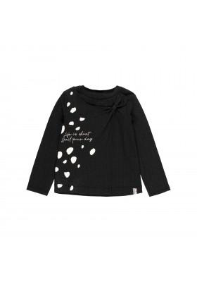 Camiseta punto elástico con lazo de niña Boboli modelo 443102