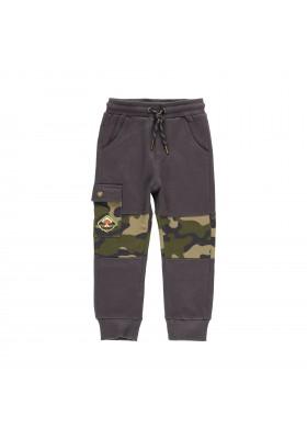 Pantalón felpa con bandas de niño Boboli modelo 523033