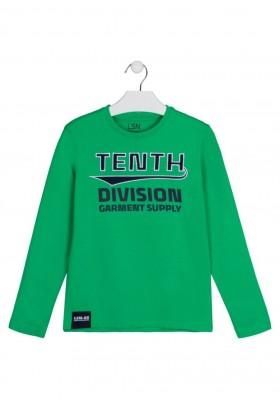 camiseta de manga larga con print Losan para niño modelo 123-1000AL