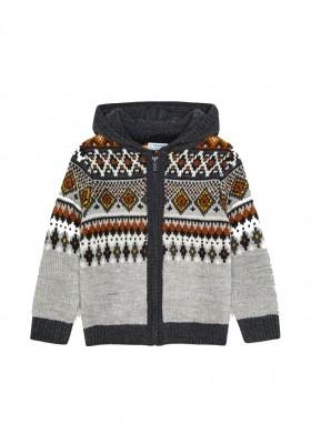 Canguro tricot jacquard de Mayoral para niño modelo 4366