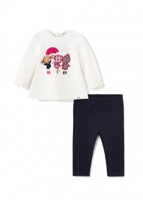 Conjunto leggings bellardina de Mayoral para bebe niña modelo 2713