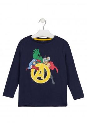 camiseta manga larga avengers Losan para niño modelo 12L-1552AG