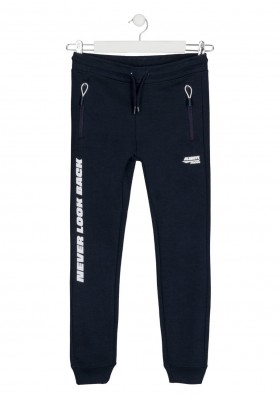 pantalon de interlock Losan para niño modelo 123-6012AL