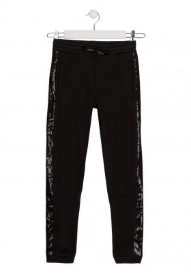 pantalon de felpa perchada Losan para niña modelo 124-6026AL