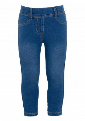 pantalon felpa no perchada efecto denim Losan para niña modelo 126-6034AL