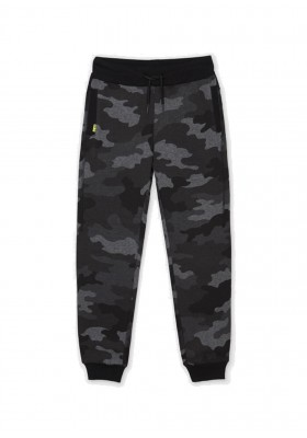 Pantalon felpa camuflaje de Mayoral para niño modelo 7548