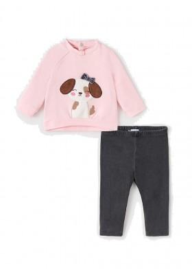 Conjunto leggings tejano de Mayoral para bebe niña modelo 2719