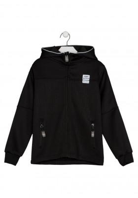 chaqueta polar con capucha Losan para niño modelo 123-0001AL