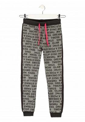 pantalon de felpa perchada Losan para niña modelo 124-6034AL