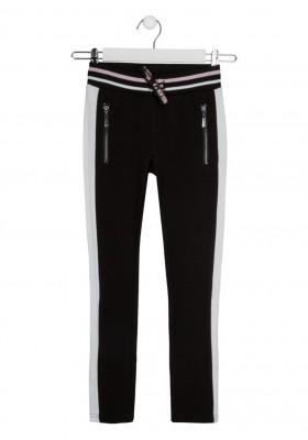 pantalon de interlock Losan para niña modelo 124-6027AL