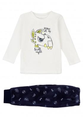 pijama de tundosado con print Losan para niño modelo 125-P002AL