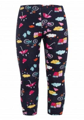leggings estampados Losan para niña modelo 126-6007AL