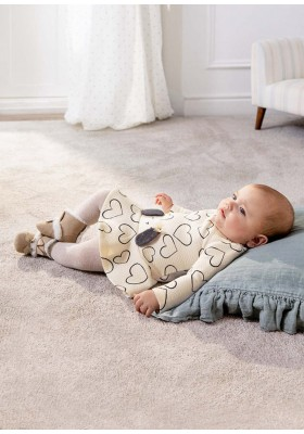 Vestido acolchado de Mayoral para bebe niña modelo 2823