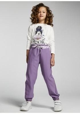 Pantalon largo punto crepe de Mayoral para niña modelo 7570