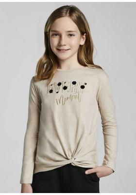 Camiseta manga larga blotch de Mayoral para niña modelo 7083