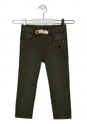 pantalon denim con rotos Losan para niño modelo 125-9003AL
