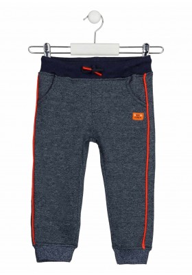 pantalon de felpa perchada Losan para niño modelo 125-6023AL