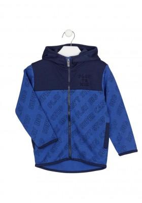 chaqueta de interlock con capucha Losan para niño modelo 125-6002AL