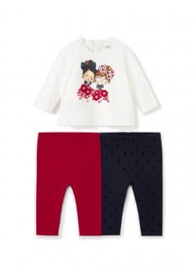 Conjunto leggings 3 piezas de Mayoral para bebe niña modelo 2714