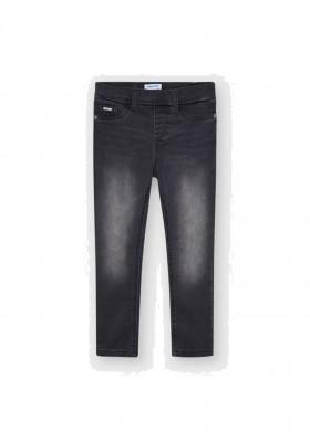Pantalon cerrado tejano basic de Mayoral para niña modelo 577