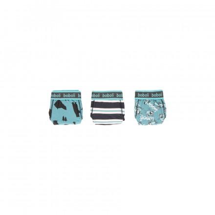 Pack 3 calzoncillos punto de niño Boboli modelo 933049
