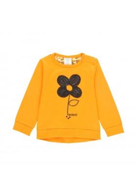 Camiseta punto combinada flores de bebé Boboli modelo 223052