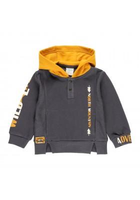 Sudadera felpa con capucha de bebé niño Boboli modelo 323053