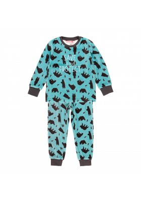 "Pijama terciopelo ""osos"" de niño Boboli modelo 933005"