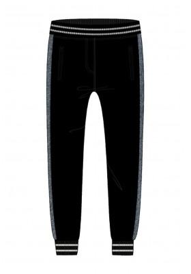 Pantalón felpa con bandas de niña Boboli modelo 443023