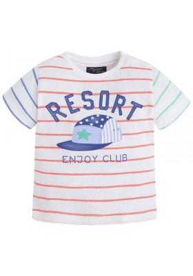 Camiseta manga corta MAYORAL bebe niño rayado