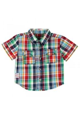 Camisa quadros BOBOLI bebe niño