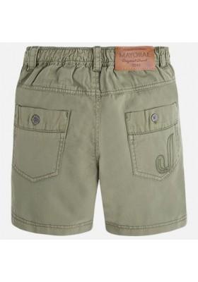 Pantalón corto sarga kaki