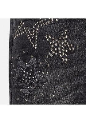 Pantalon tejano MAYORAL niña  estrellas