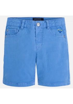 Pantalón corto MAYORAL niño sarga tejanera