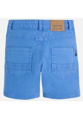 Pantalón corto sarga tejanera