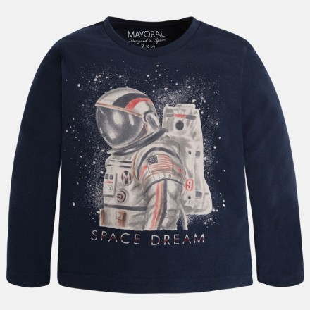 "Camiseta manga larga MAYORAL niño ""space dream"""