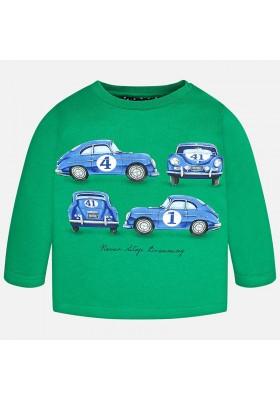 Camiseta manga larga MAYORAL bebe niño serigrafia coche