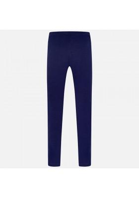 Leggings punto MAYORAL niña elastan basico color azul marino