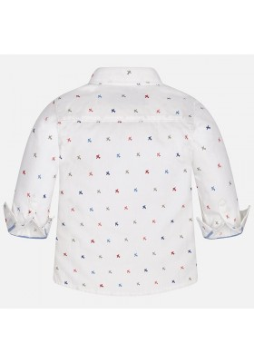 Camisa manga larga  MAYORAL bebe niño  estampada