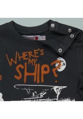 Camiseta punto liso BOBOLI de bebé niño