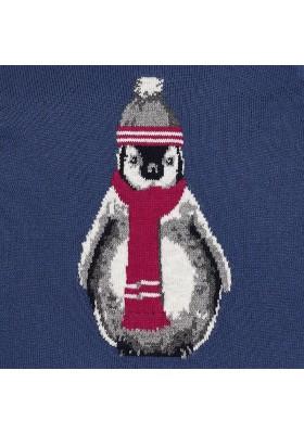 "Jersey MAYORAL bebe niño ""pingüino"" infinito"