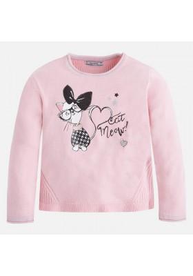 Jersey tricot MAYORAL niña gatito