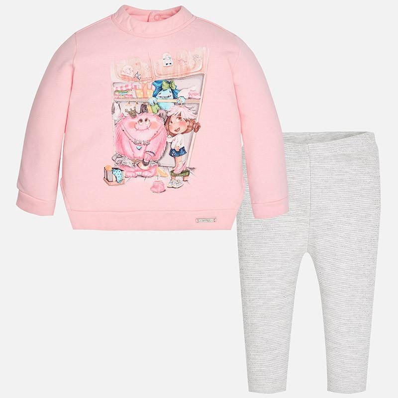 Conjunto leggings MAYORAL bebe niña pullover - tortugablava cca7ebec80a9