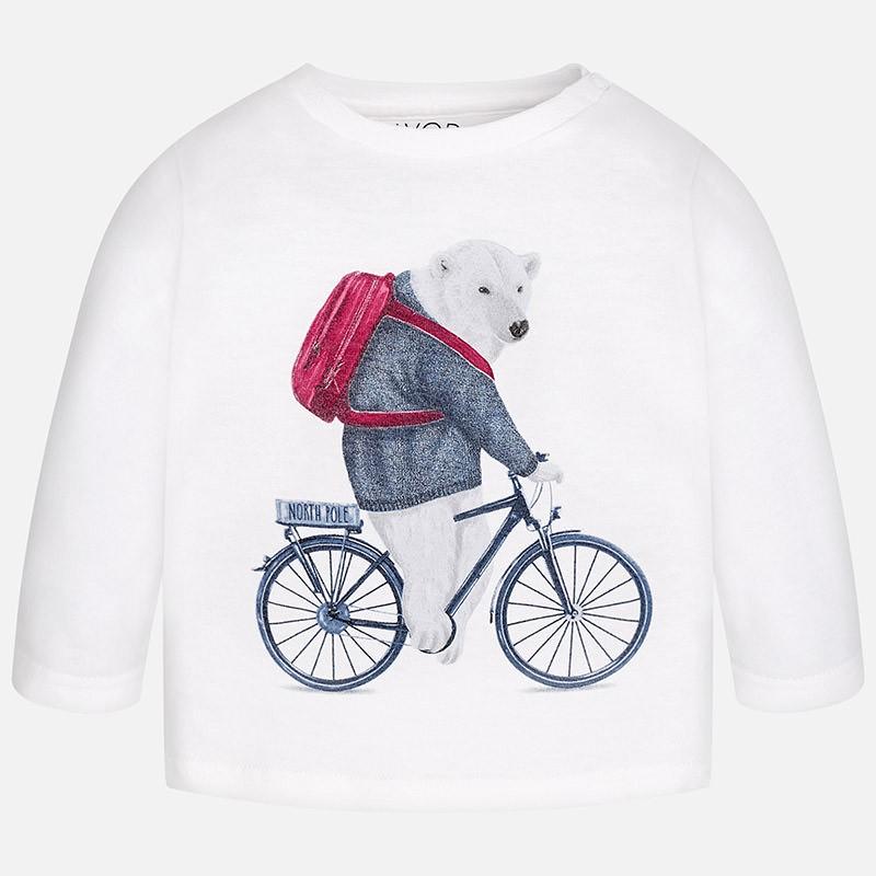 323616d07 Camiseta manga larga MAYORAL bebe niño