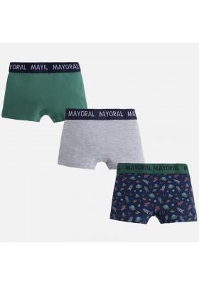 Set 3 boxer MAYORAL niño estampado y liso