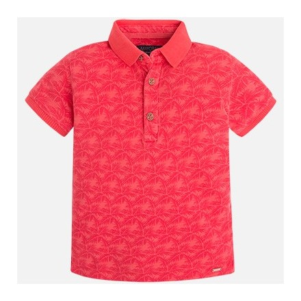 Polo m/c estampado