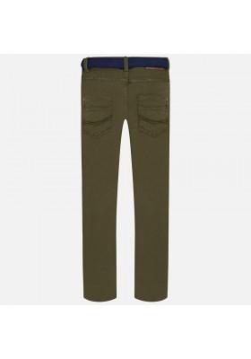 Pantalón MAYORAL niño super slim con cinturón
