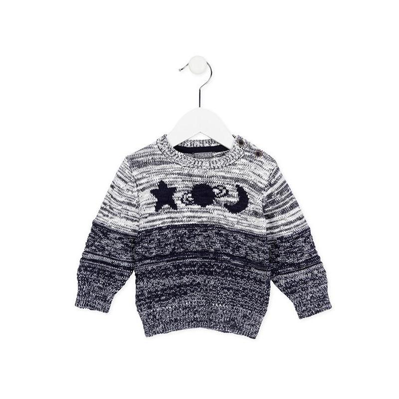 993985e73 Jersey de tricotosa LOSAN bebe niño - tortugablava